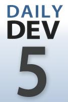 DailyDev thumbnail logo -- day 5