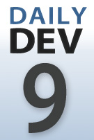 DailyDev blog series logo -- day 9