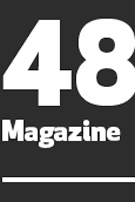 Screengrab of 48 HR Magazine logo