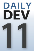 DailyDev blog series logo - day 11