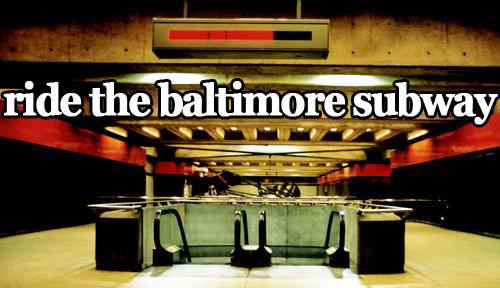 Baltimore-subway